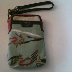 FOSSIL PHONE AND CREDIT CARD CASE